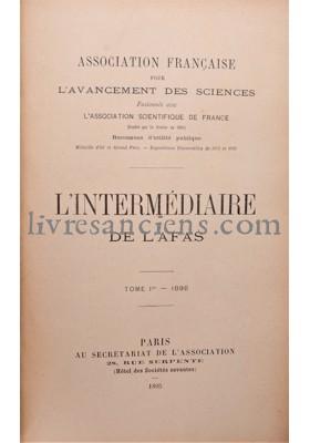 Photo ASSOCIATION FRANCAISE POUR L'AVANCEMENT DES SCIENCES.