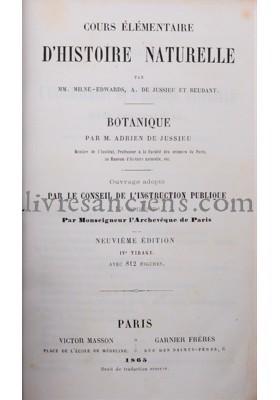 Photo JUSSIEU, Adrien de || BEUDANT, François-Sulpice || MILNE-EDWARDS, Alphonse.