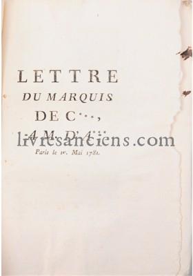 Photo NECKER, Jacques || [GRIMOARD, Philippe-Henri de].