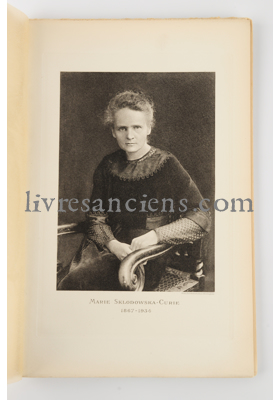 Photo [CURIE, Marie].