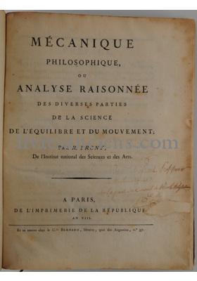 Photo PRONY, Gaspard Clair François Marie Riche de.