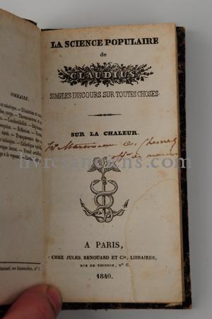 Photo CLAUDIUS    [RUELLE, Charles].