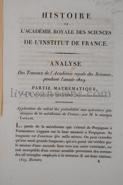 Photo ACADÉMIE ROYALE DES SCIENCES    GIRARD, Pierre-Simon    POINSOT, Louis    DELAMBRE, Jean Baptiste Joseph    CUVIER, Georges.