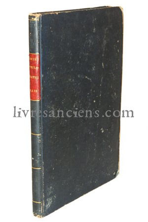 Photo [Société philomathique].
