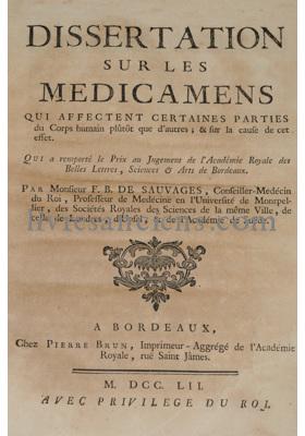 Photo BOISSIER DE SAUVAGES, François.