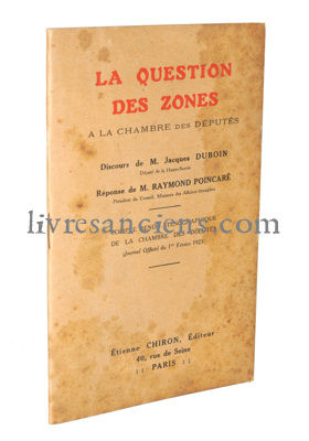 Photo DUBOIN, Jacques || POINCARRE, Raymond.
