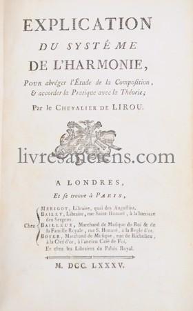 Photo LIROU, Jean François Espic de.