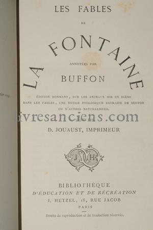 Photo LA FONTAINE, Jean.