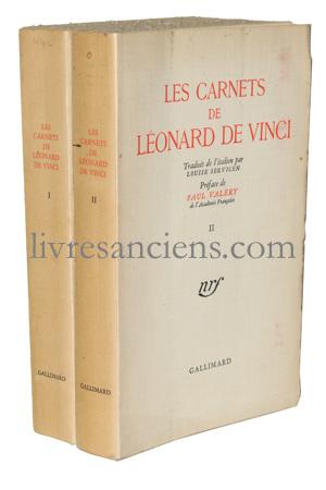 Photo [VALERY, Paul] DE VINCI, Léonard.