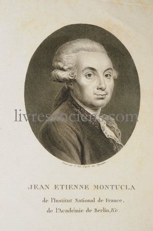 Photo MONTUCLA, Jean Etienne.