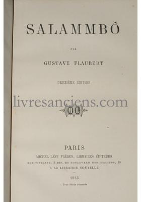 Photo FLAUBERT, Gustave.