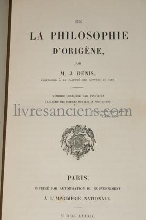 Photo DENIS, Jacques François.