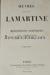 Photo LAMARTINE, Alphonse.