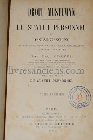 Photo CLAVEL, Eugène.
