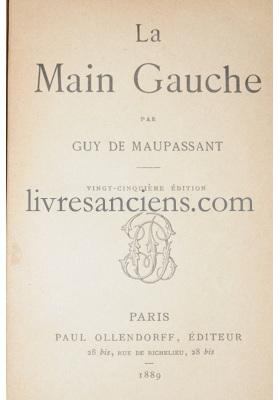 Photo MAUPASSANT, Guy de.