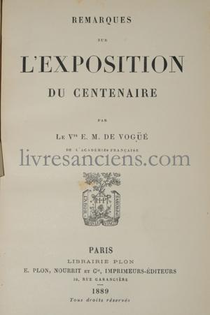 Photo VOGÜE, Eugène-Melchior de.