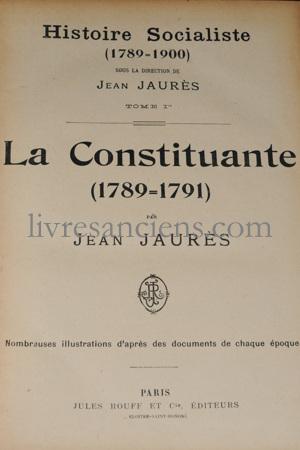 Photo JAURES, Jean.