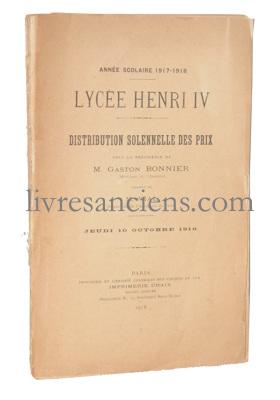 Photo [LYCEE HENRI IV].