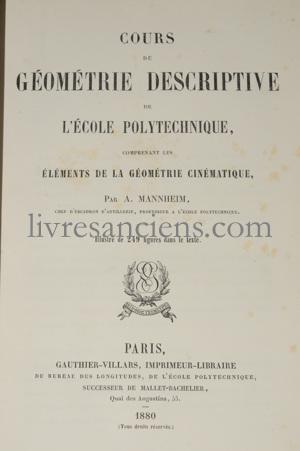 Photo MANNHEIM, Amédée.