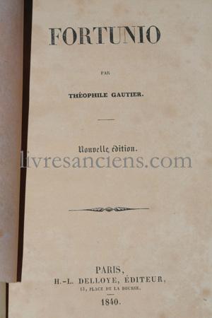 Photo GAUTIER, Théophile.