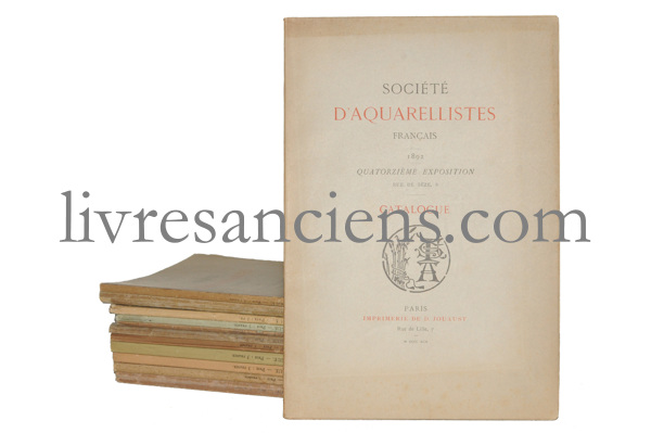 Photo [Société d'aquarellistes français].