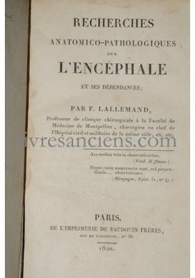 Photo LALLEMAND, Claude François.