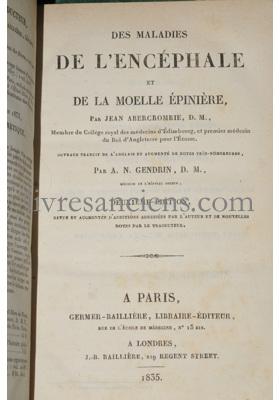 Photo ABERCROMBIE, John || GENDRIN, Auguste Nicolas.