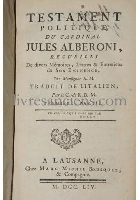 Photo ALBERONI, Jules.