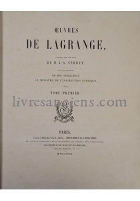 Photo LAGRANGE, Joseph Louis.