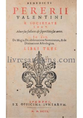 Photo PERERIUS, Benedictus.