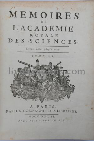 Photo ACADÉMIE ROYALE DES SCIENCES    FANTET DE LAGNY, Thomas.