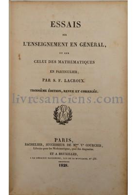 Photo LACROIX, Sylvestre François.