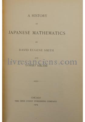 Photo SMITH, David E. || MIKAMI, Yoshio.