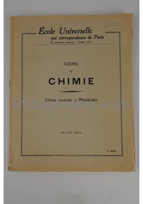 Photo Ecole Universelle par correspondance de Paris.