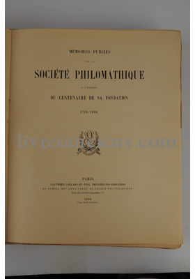 Photo Société philomatique.
