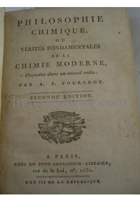 Photo FOURCROY, Antoine François de. & MURAT, J.A.