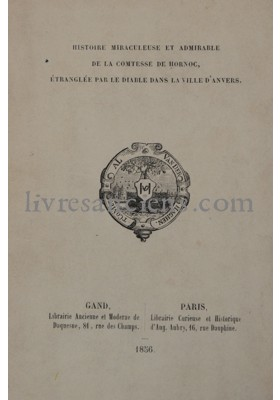 Photo [HORNOC, Comtesse de].