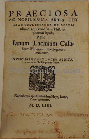 Photo LACINIUS, Janus.